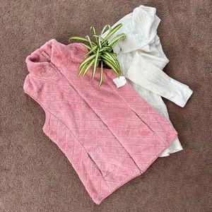 Time And Tru Plush Vest
